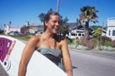 Title: Jenny with Board Surfer: Useldinger, Jenny Type: Portraits
