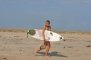 Title: Kim On the Sand Surfer: Diggs, Kim Type: Portraits