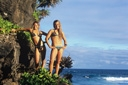 Title: Kyla and Kim In Hawaii Surfer: Langen, Kyla Type: Model Released