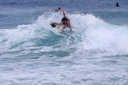 Title: Lauren Slashing the Lip Surfer: Sweeney, Lauren Type: Action