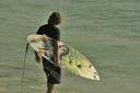 Title: Mikala with Board Surfer: Jones, Mikala Type: Portraits