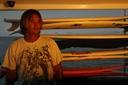Title: Mikala Surfboard Portrait Surfer: Jones, Mikala Type: Portraits