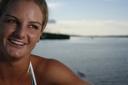 Title: Rebecca Smile Surfer: Woods, Rebecca Type: Portraits