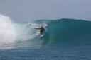 Title: Taylor Under the Lip Surfer: Thorne, Taylor Type: Barrel