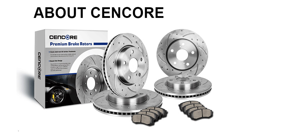 High-End 8 Ceramic Pads Front+Rear Kit 5lug Fits:- Civic ILX 4 Black Coated Cross-Drilled Disc Brake Rotors