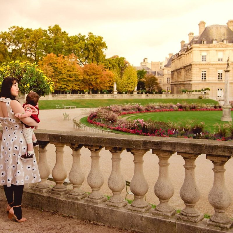 Exploring the Luxembourg Garden