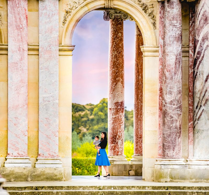 What Versailles Taught us About Family Travel and Photography