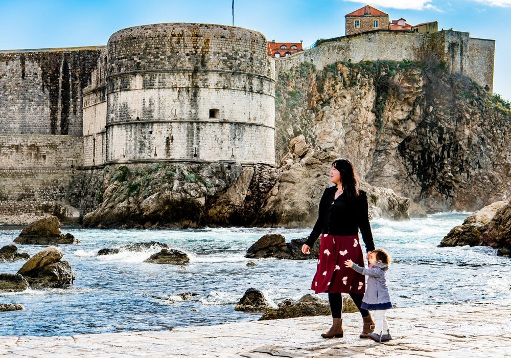 Photography Location in Dubrovnik: Outside the Pile Gate