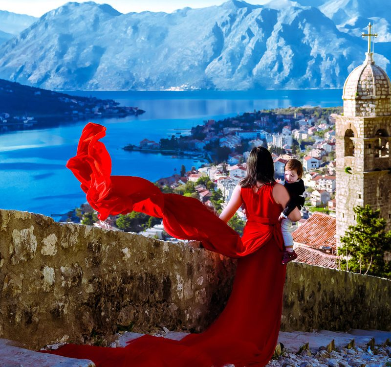 Photography Above Kotor, Montenegro