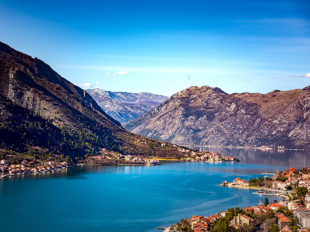 The Bay of Kotor.