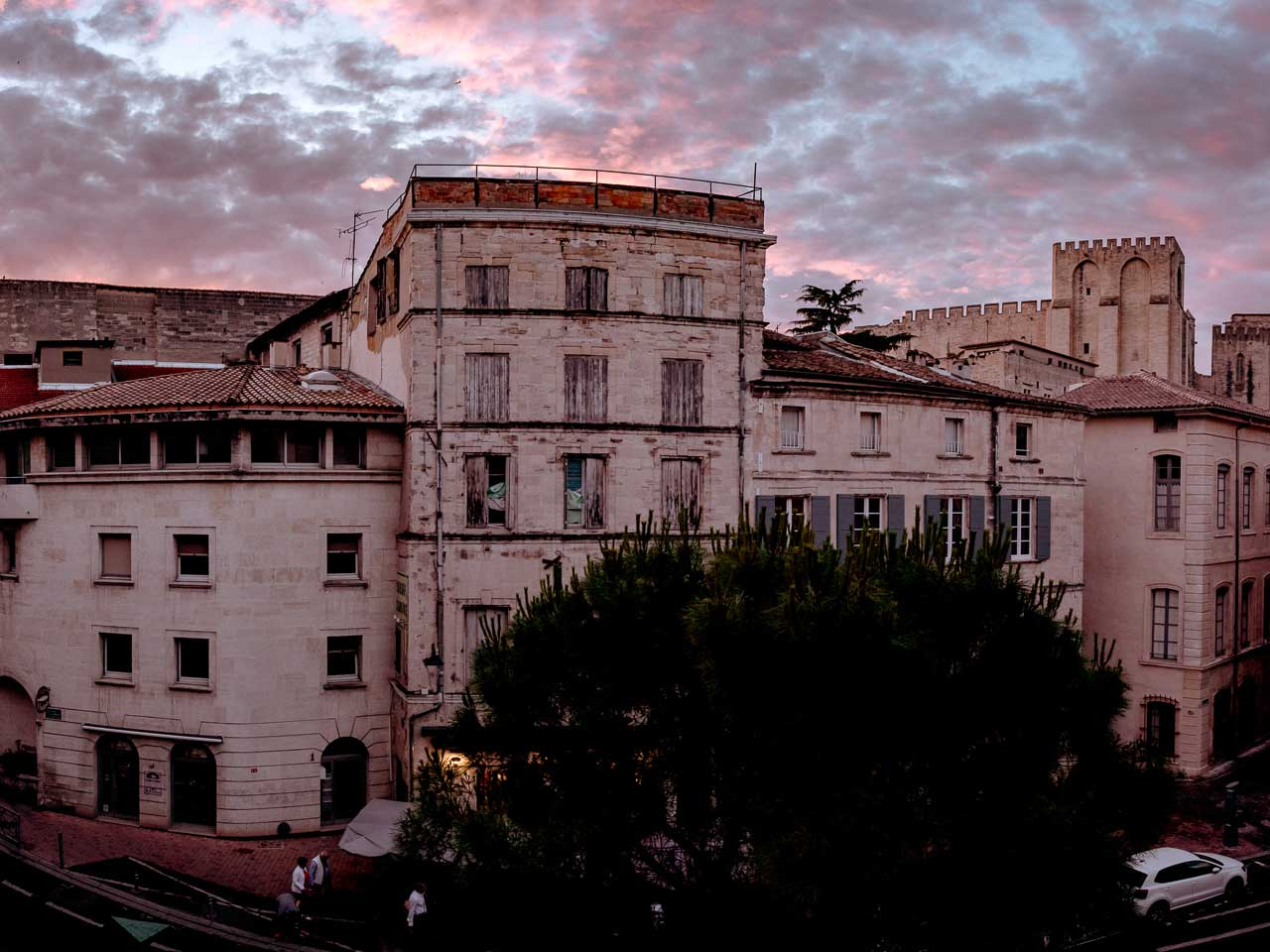 Another beautiful sunset shot in Avignon, our favorite city in the south of France.