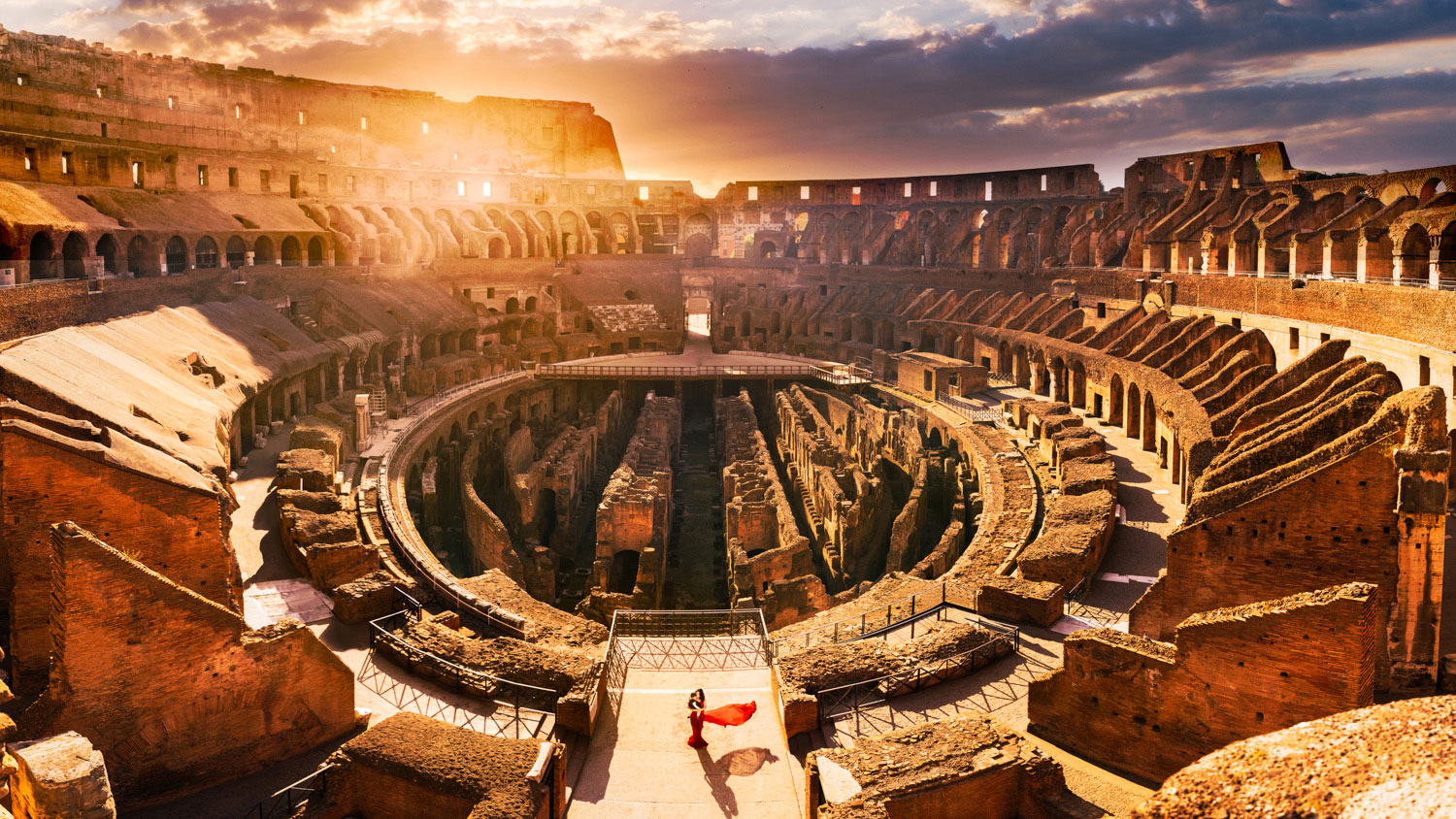 Our best photo of the Roman Colosseum