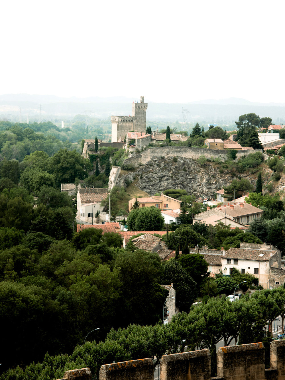 Another tower visible from Fort Saint-andre in Provence France.