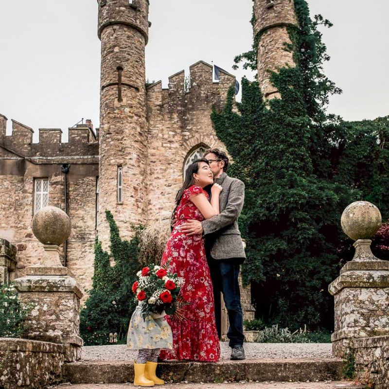 Our Anniversary in An English Castle