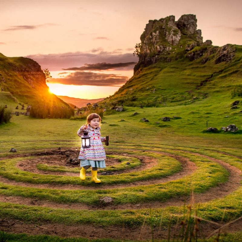 Fairy Glen, Family Fun on the Isle of Skye, Scotland.