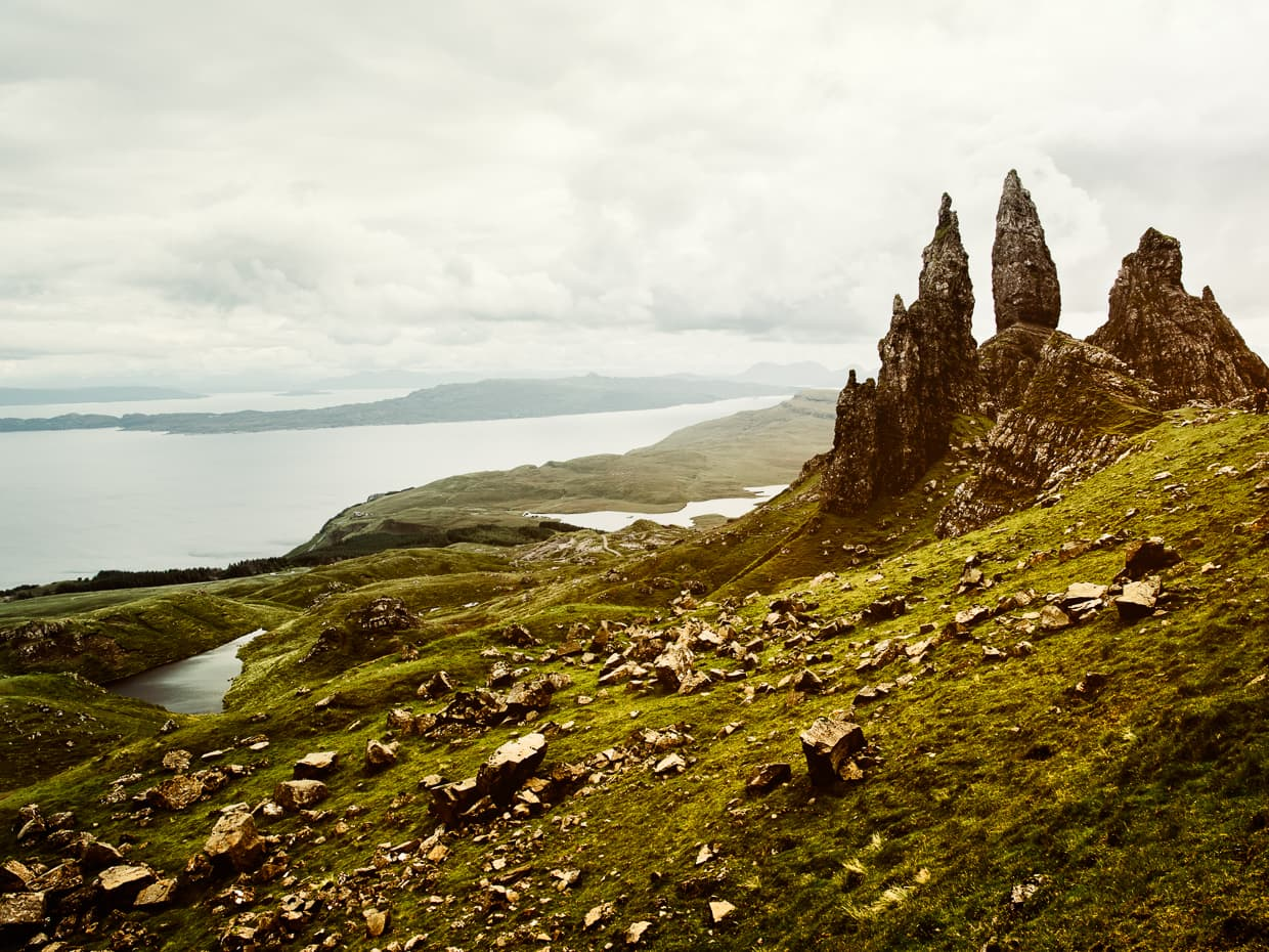 The Old Man of Storr: One of Scotland's coolest landmarks on the Isle of Skye.