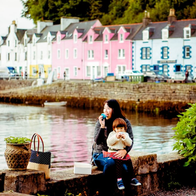A day in Portree on the Isle of Skye