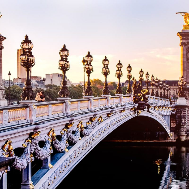 Pont Alexandre III in Fall, Rain or Shine