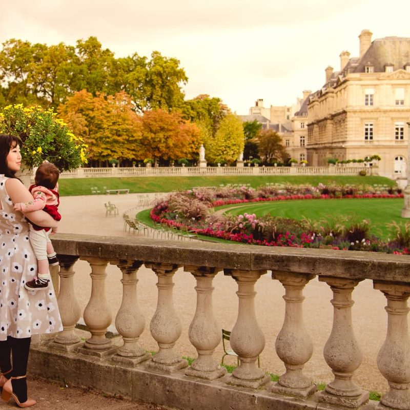 October in Paris (With Baby Lisa)
