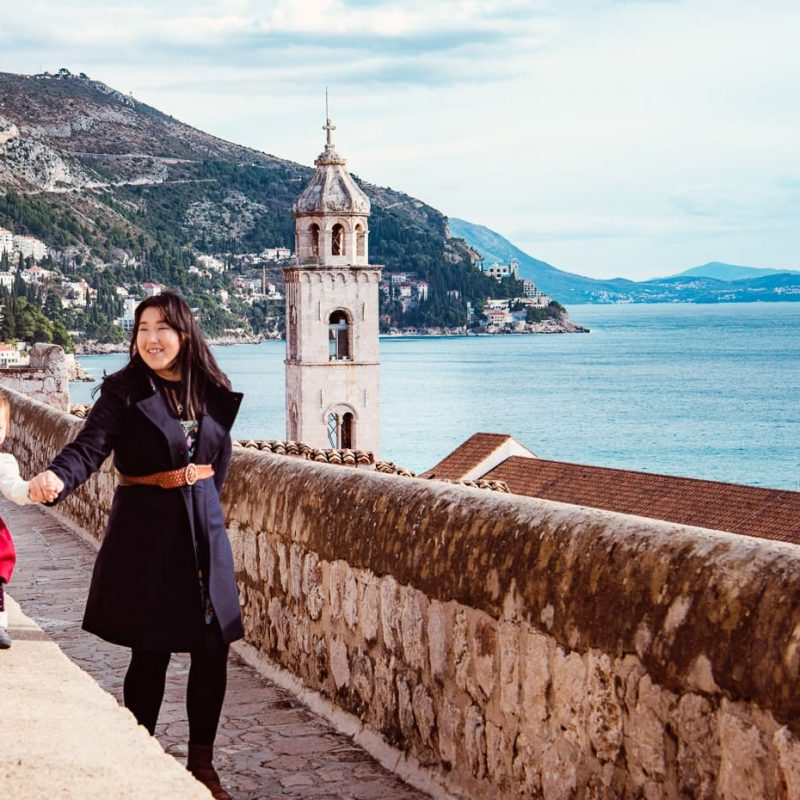 Photographing Dubrovnik Croatia's City Walls
