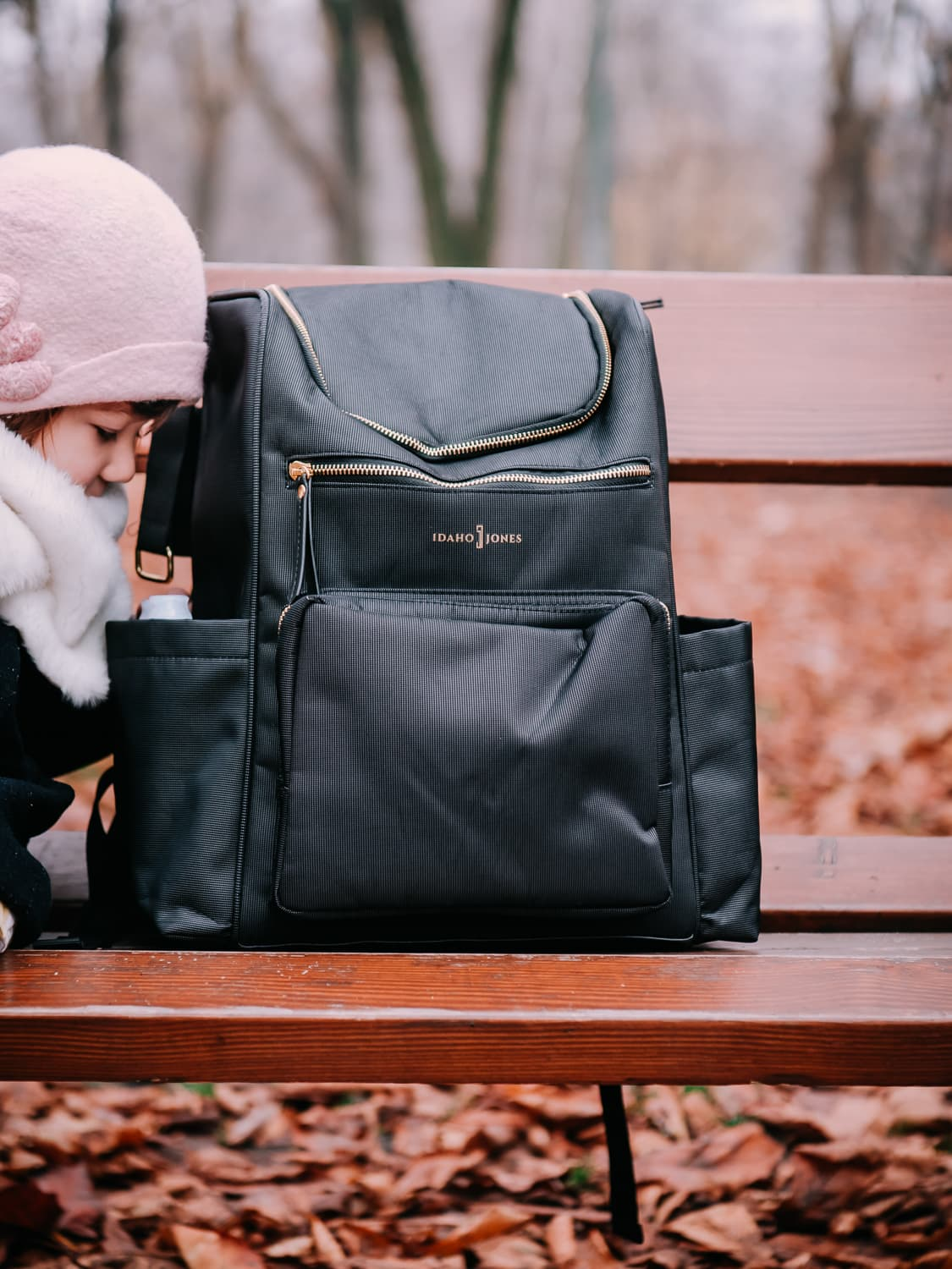 Lisa reviews our Idaho Jones Diaper Bag