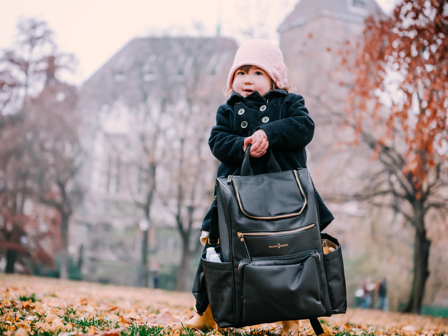 The Idaho Gallivant - A lightweight baby diaper bag.