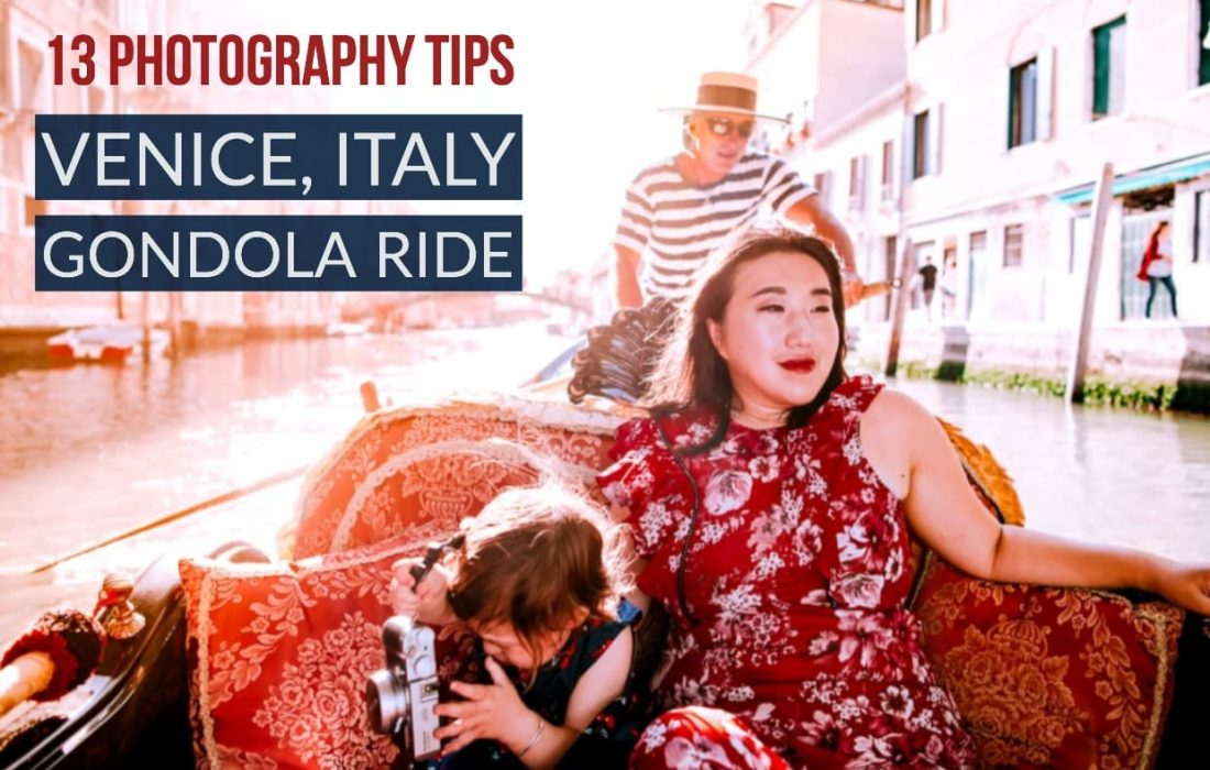 Photography Tips for Gondola Rides in Venice, Italy