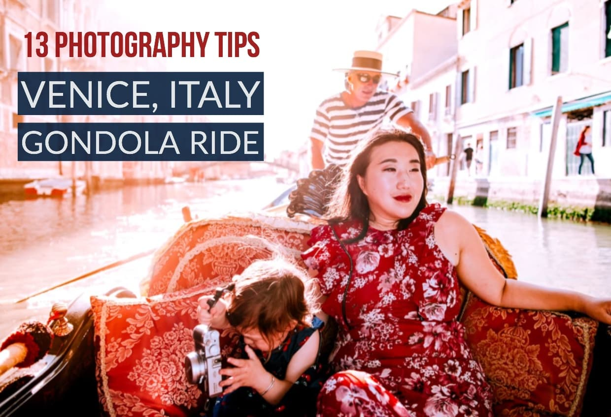 Photography Tips for Gondola Rides in Venice, Italy | Jake and Dannie