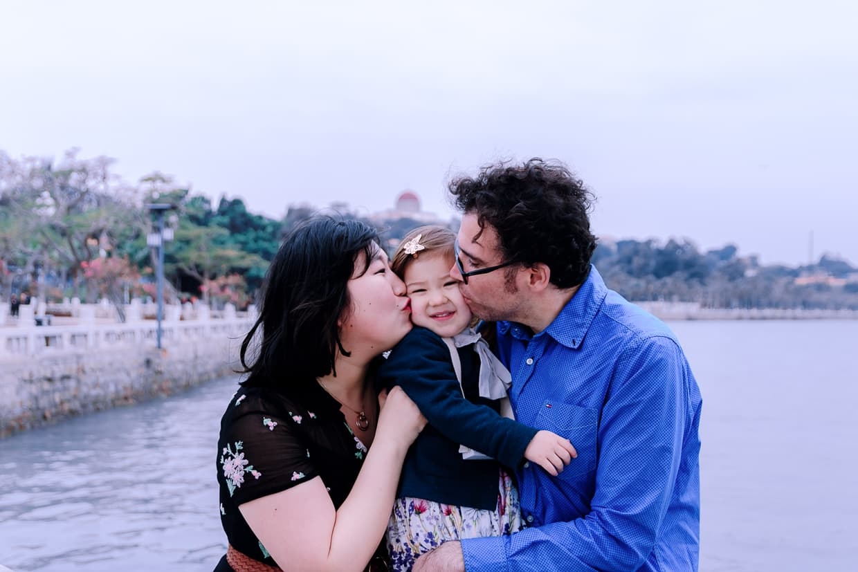 A family portrait from our trip to Gulangyu in Xiamen, China