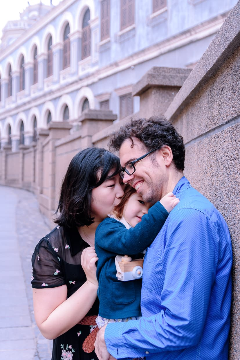 A nice family portrait from our Gulangyu photoshoot in Xiamen, China.
