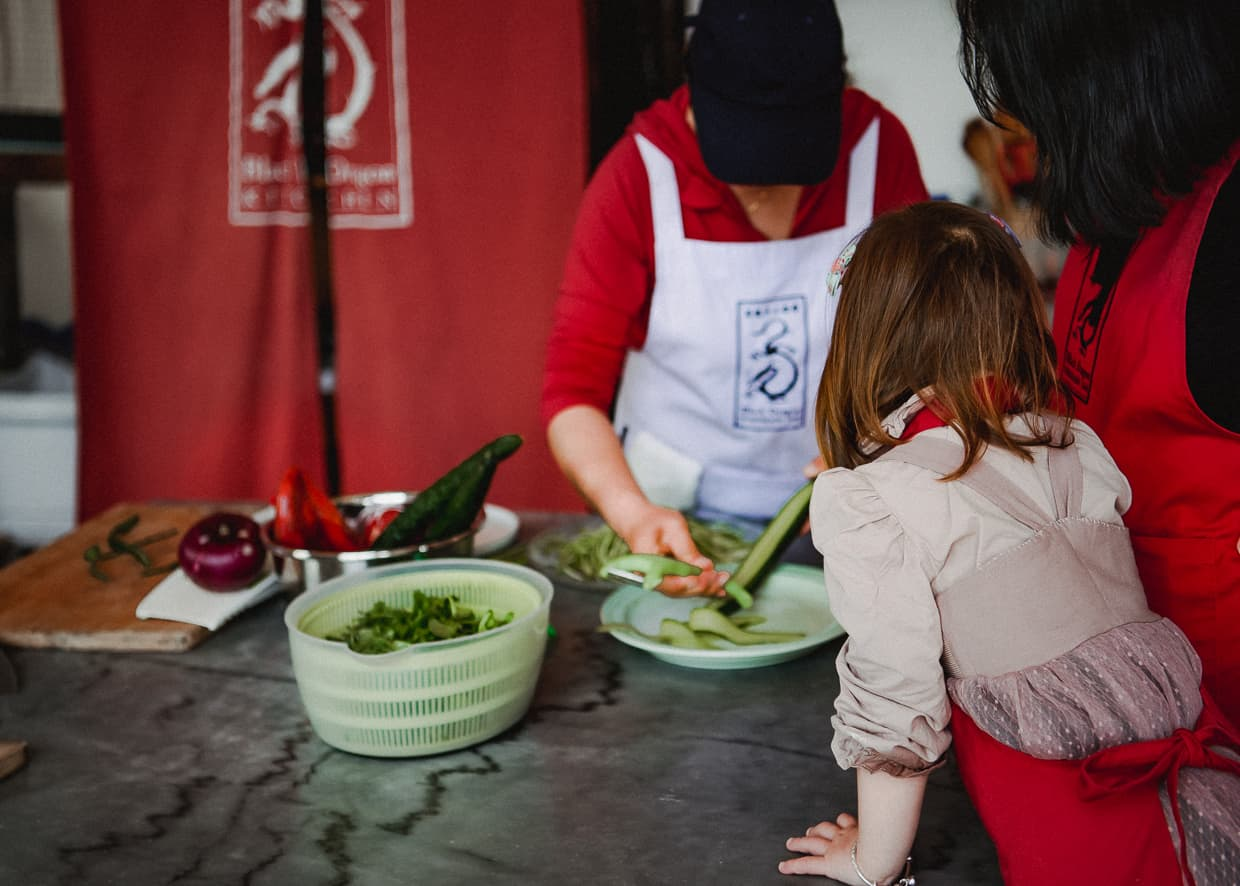 Learning how to cook in Dali, China.