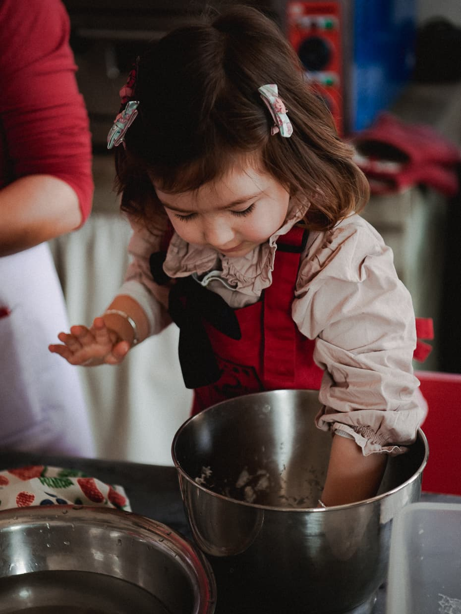 Learning to bake in Dali, China.