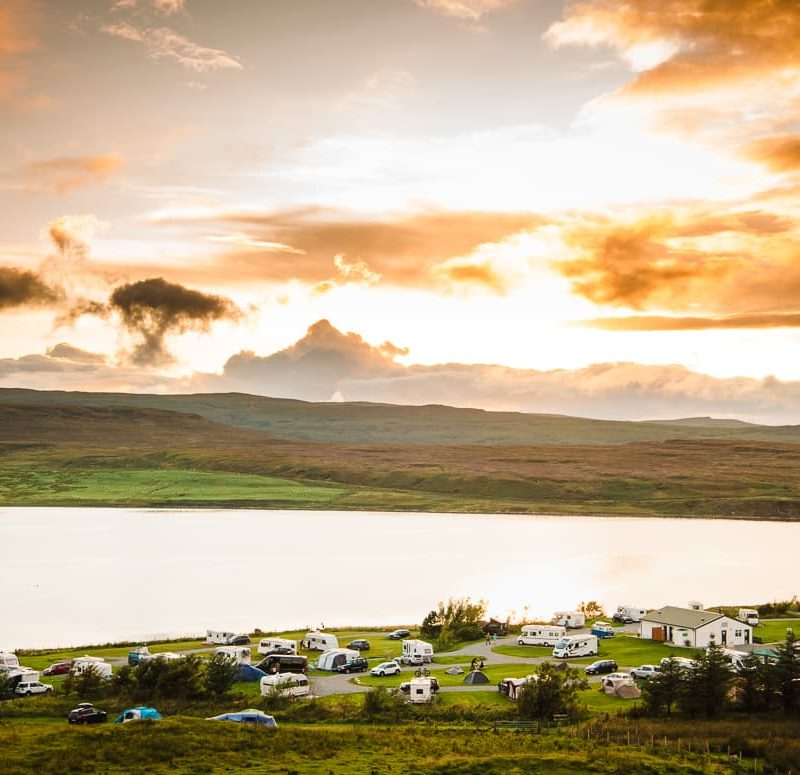 Isle of Skye Camping and Caravanning Club Review