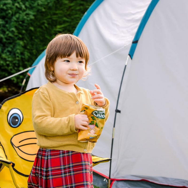 Tent Camping in Scotland With a Toddler
