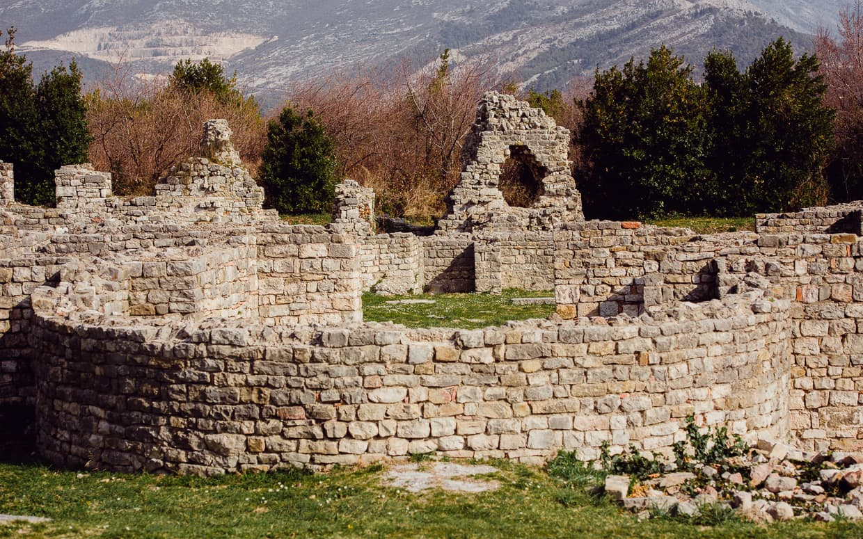 Some of the Salona Ruins.