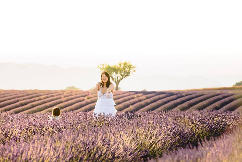 lavender lightroom preset after.