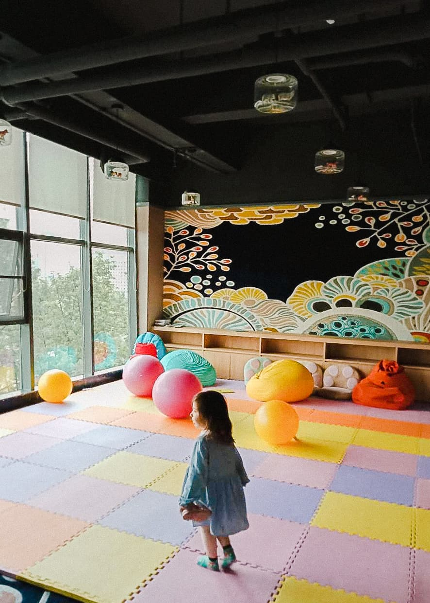 Children's play area in the Ibis Styles Kunming Nanping Hotel