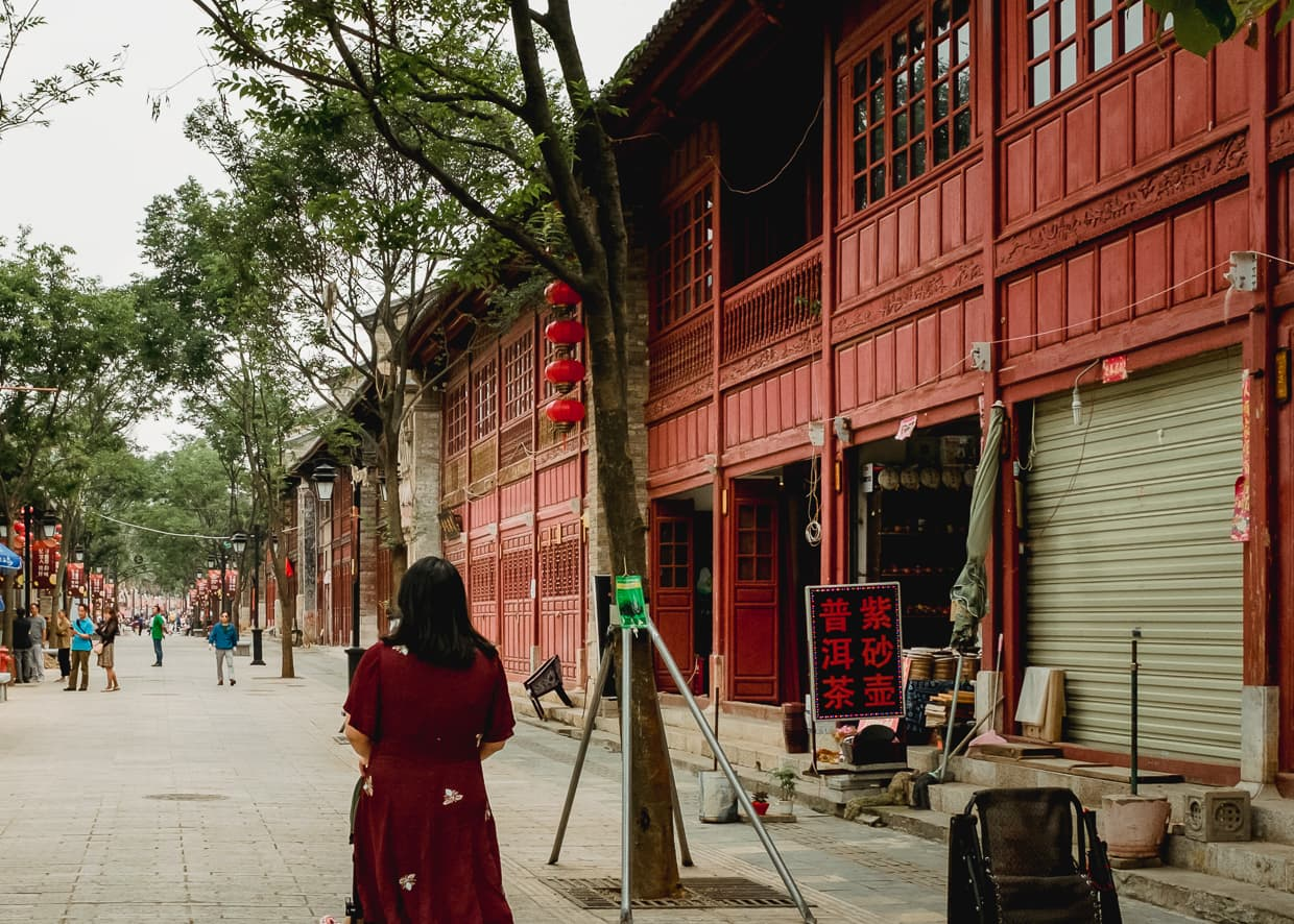 A walk in Kunming, China