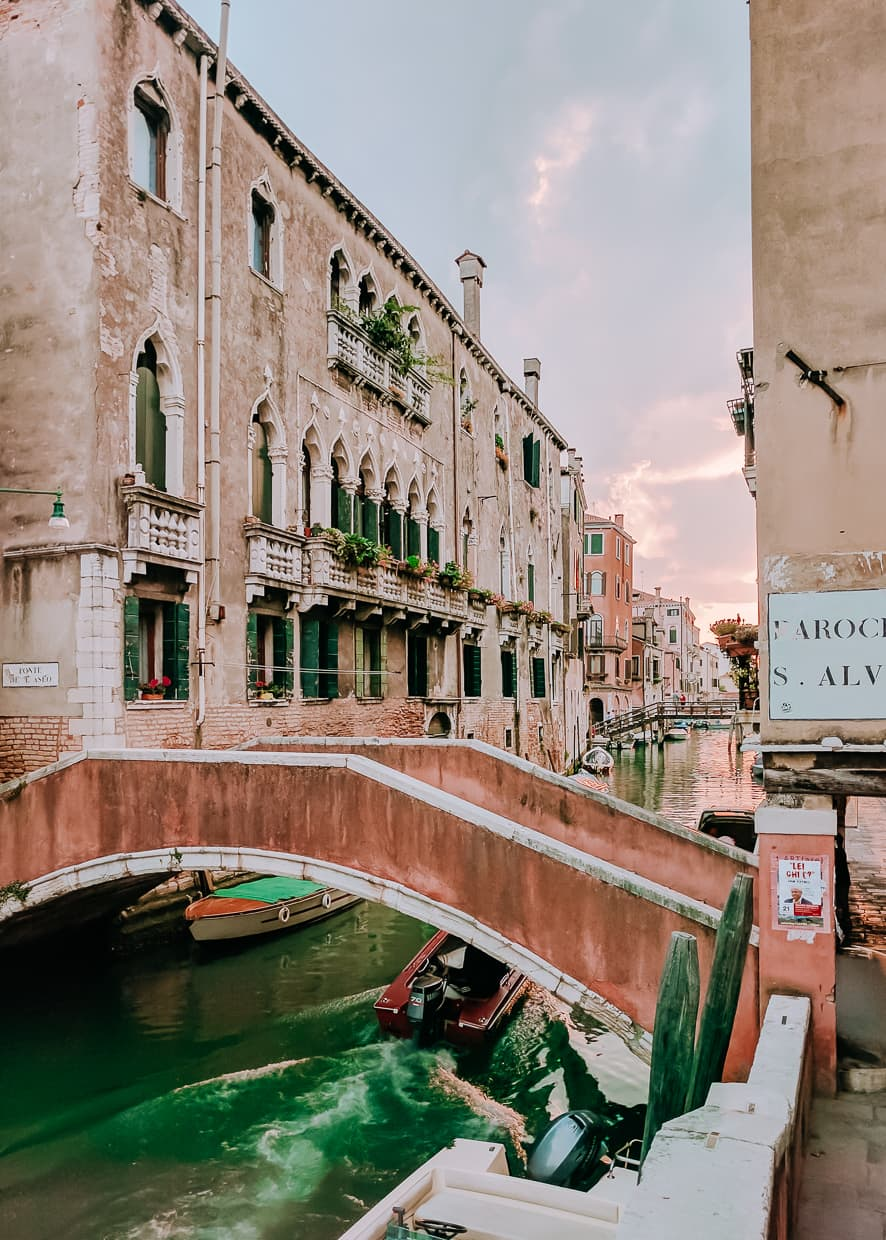 The Venice Ghetto district early in the morning.
