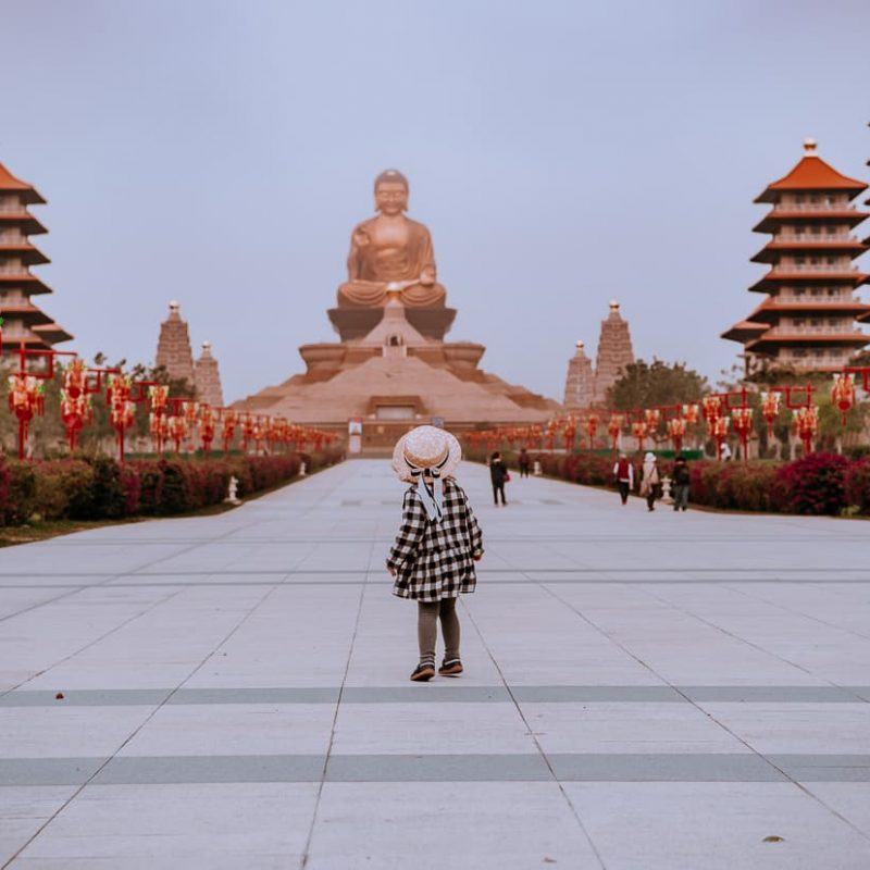 Fo Guang Shan Buddhist Monastery and Buddha museum.