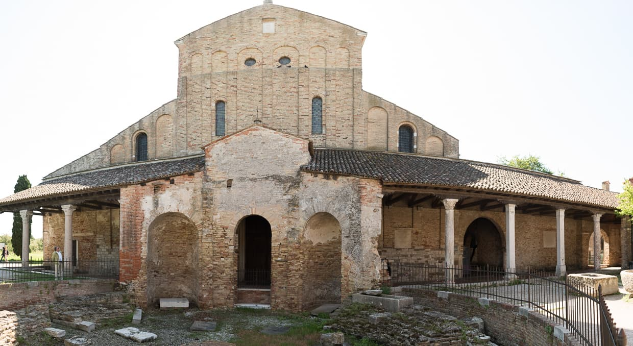 The Cathedral of Santa Maria Assunta on Torcello, Italy.