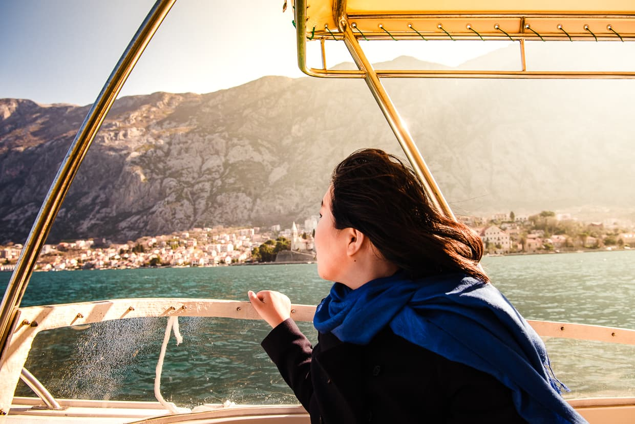 Our boat tour of the Bay of Kotor.