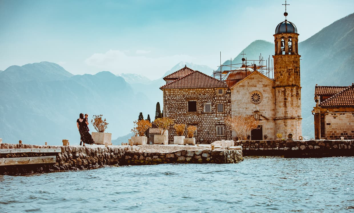 Our Lady of the Rocks. Bay of Kotor.