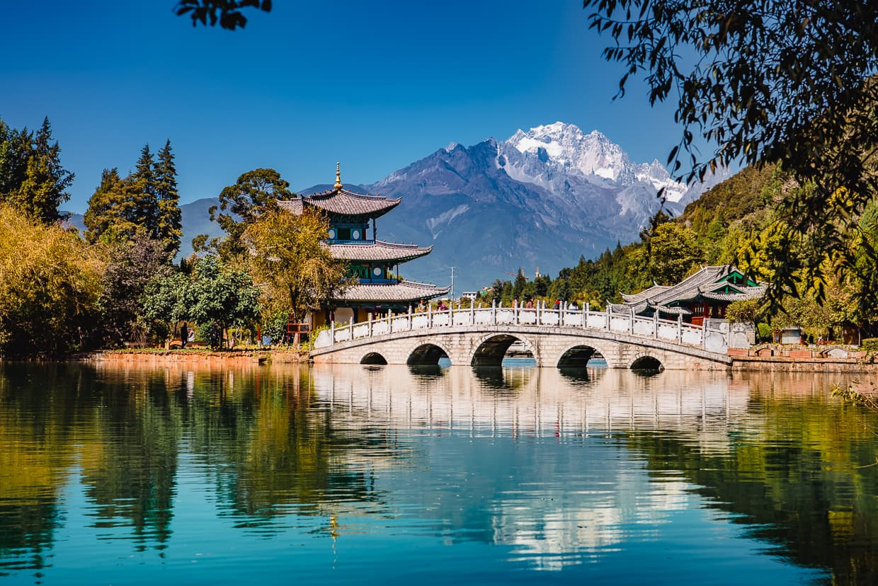Black Dragon Pool, Lijiang China