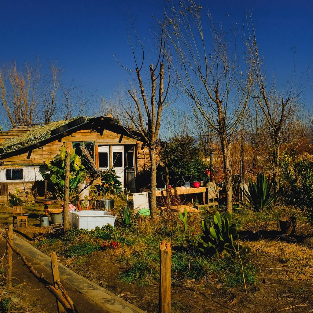 Li Li's farm house on Christmas Morning in Dali, China.