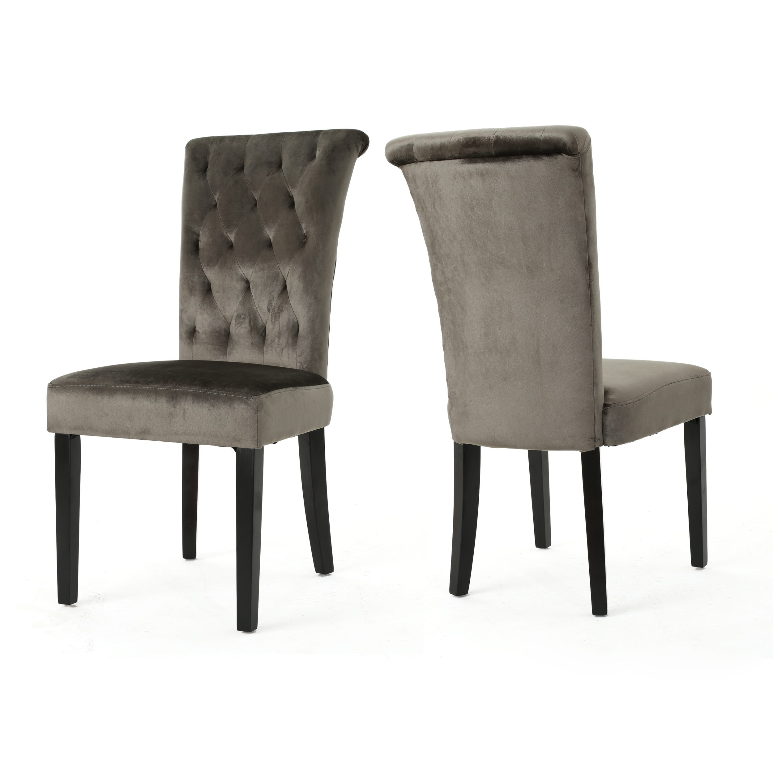 Details About Venus Tufted New Velvet Dining Chair Set Of 2