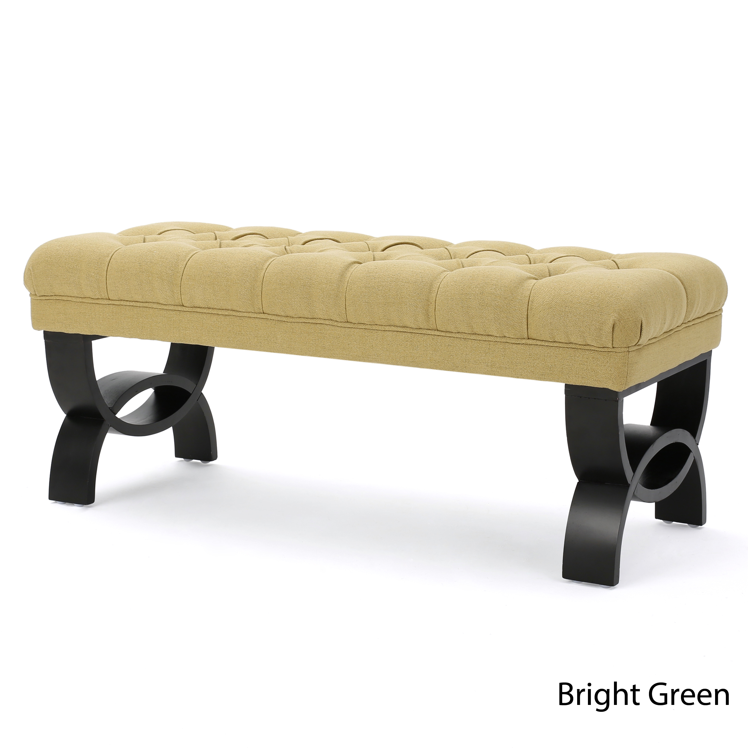 Marvelous Details About Reddington Tufted Fabric Ottoman Bench Bralicious Painted Fabric Chair Ideas Braliciousco