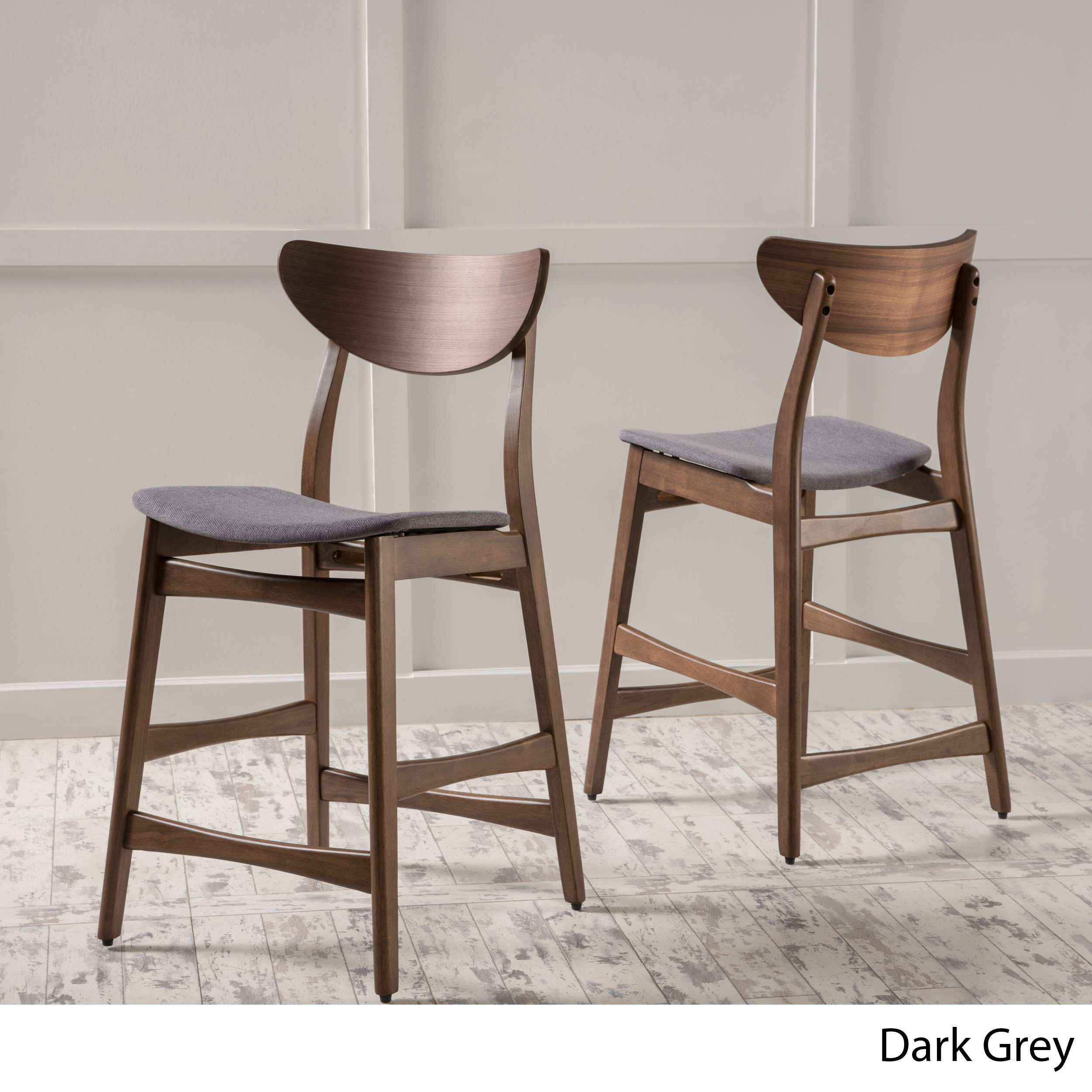 Swell Molle Mid Century Design 24 Inch Counter Stools Set Of 2 Caraccident5 Cool Chair Designs And Ideas Caraccident5Info