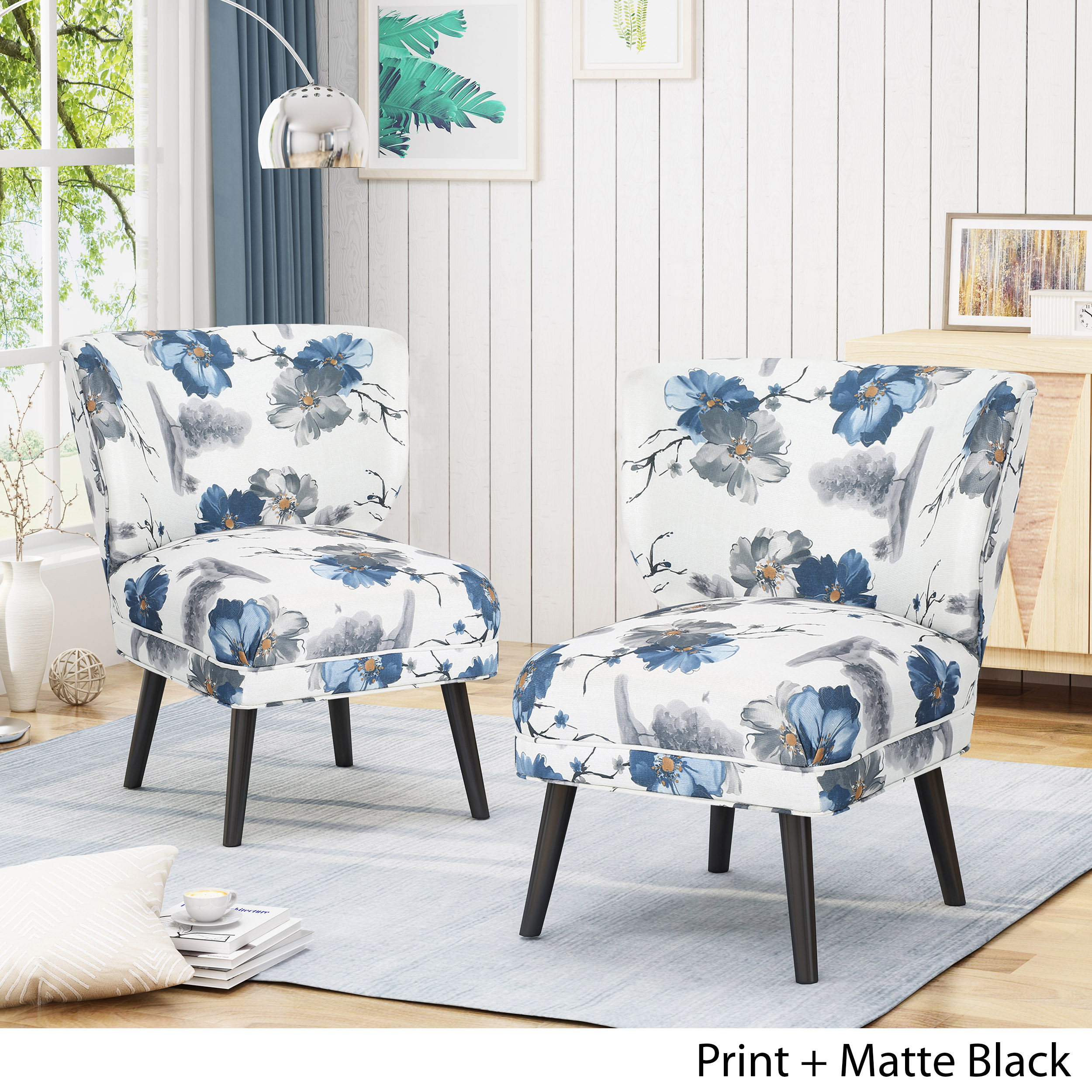 Modern Formal Living Room, Dumont Modern Farmhouse Accent Chairs Set Of 2 Ebay