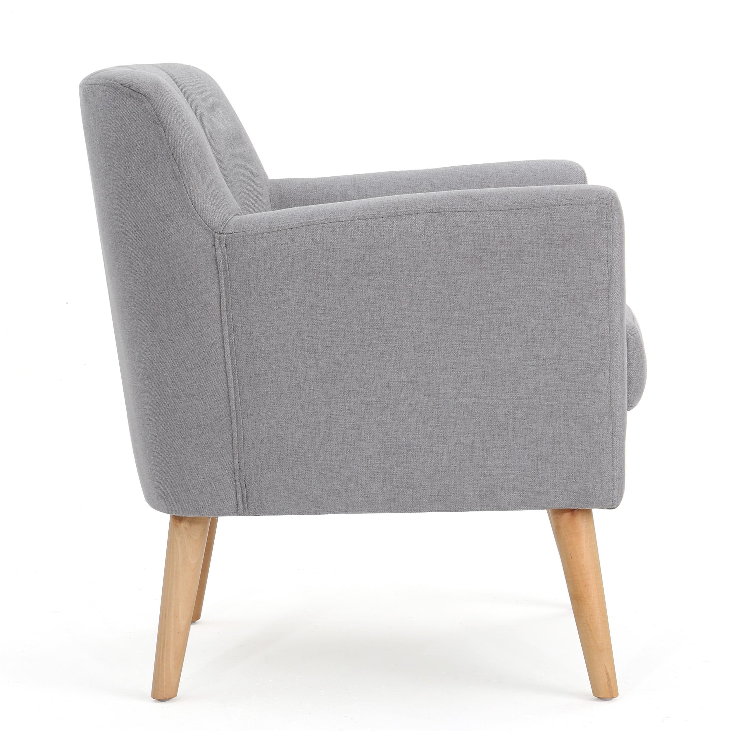 Admirable Madelyn Mid Century Modern Fabric Club Chair Ebay Machost Co Dining Chair Design Ideas Machostcouk